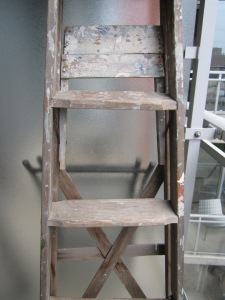 My new free wooden ladder